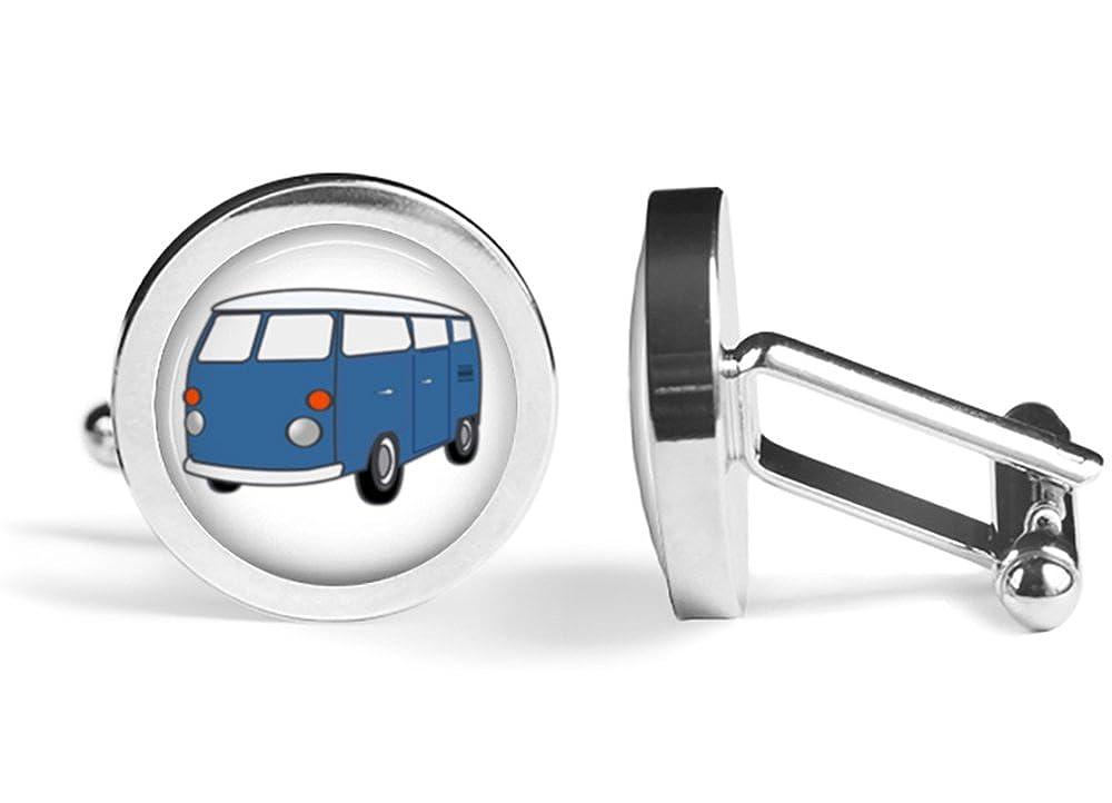 Angled Edition Surf Bus Kombi Cufflinks