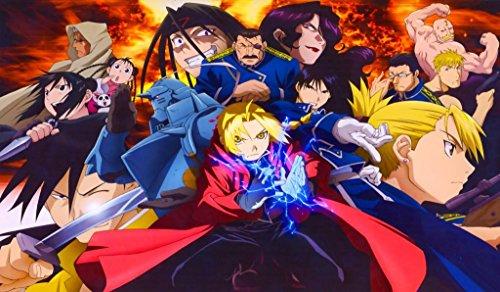 - Full Metal Alchemist FMA Anime TCG playmat, gamemat 24