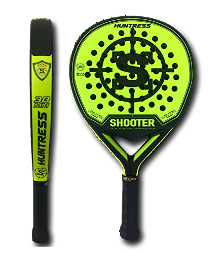 Amazon.com : Huntress Paddle Racket : Sports & Outdoors