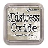Ranger Tim Holtz Distress Oxides Ink Pads Frayed Burlap (12 Pack)
