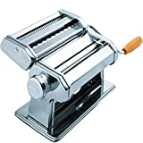 Kitchen, Dining & Bar Stainless Steel Fresh Pasta Maker Roller Machine for Spaghetti Noodle Fettuccine