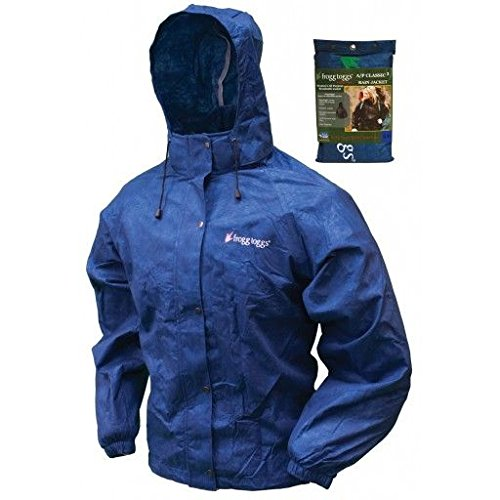 Frogg Toggs All Purpose Rain Jacket, Women's, Royal Blue, Size Large/X-Large