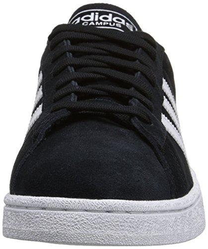 Adidas Noir Blanc Hommes Chaussures Campus 2012 Noir SuedeTrainers AUfaArH