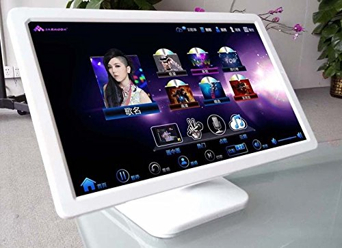 19' LED IR touch screen for inandon karaoke machine,Table stand (Black)