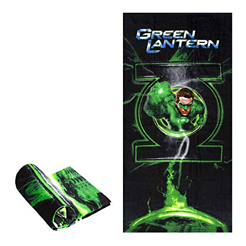 JPI Beach Towel - Green Lantern - Beach Towel Oversized 60
