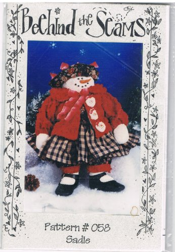 (Sadie the Snowlady Fabric Doll Pattern)