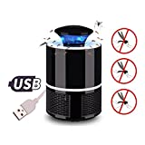 Dr Nezix Mosquito Zapper Lamp, USB Powered Non-Chemical Electronic Mosquito Catcher Trap Lamp
