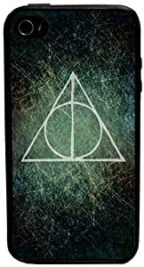 CellPowerCasesTM Harry Potter Deathly Hallows iPhone 4 Case - Fits iPhone 4 & iPhone 4S