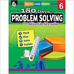 Amazoncom 180 Days Of Problem Solving For Sixth Grade Build Math