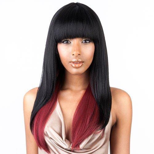 - ISIS BROWN SUGAR Human Blended Full Wig - BS103#1 - Jet Black by ISIS HAIR