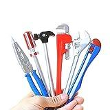 10 Pieces Novelty Pens Creative Ballpoint Cartoon Ball Pen Office School Supplies (Tool 6pcs)