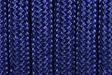 BoredParacord Brand Paracord/Parachute Cord 7-Strand, 550 Lb. Break Strength Guaranteed U.S. Made, Type III - Acid Midnight Blue (50 feet)