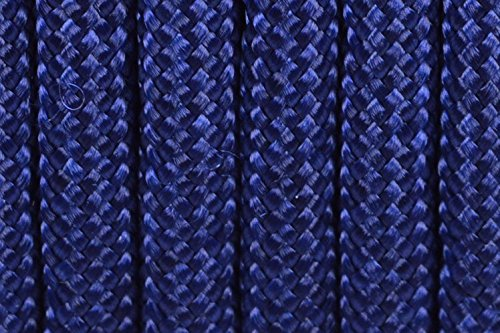 BoredParacord Brand Paracord/Parachute Cord 7-Strand, 550 Lb. Break Strength Guaranteed U.S. Made, Type III - Acid Midnight Blue (50 feet) by BoredParacord (Image #1)