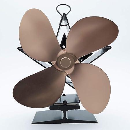 HYDD Ventilador de Estufa Respetuoso con el Medio Ambiente Calor ...