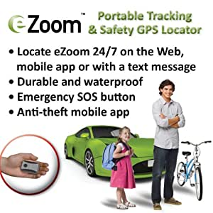 Securus EZOOM1000 eZoom Personal GPS Locator (Requires Service Plan)