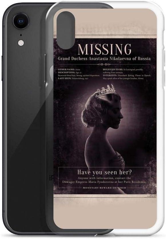 Anastasia Coque pour iPhone X/XS, XR, XS Max, 7/8, 7 Plus/8 Plus ...