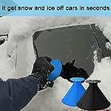 Magical Ice Scraper Round/Car Window Windshield