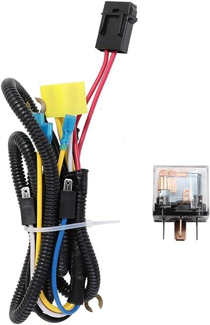 Car Horn Relay Wiring Harness Kit 12V For Grille Mount Blast Tone Horns UK