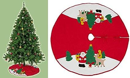 Immagini Di Copertina Di Natale.Best Accessoires4all Natale Albero Di Natale Coperta Copertina Per Albero Di Natale Amazon It Casa E Cucina