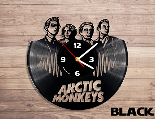 Arctic Monkeys rock band vinyl record wall clock
