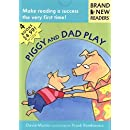 Piggy and Dad Play: 4 Brand New Readers: Sledding/ Play Ball!/ Water Balloons/ Lemonade for Sale