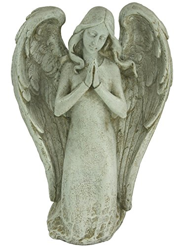 (Roman Kneeling Guardian Angel Statue [68078])
