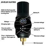 Javelin Wireless Portable Tattoo Pen Kit Starter