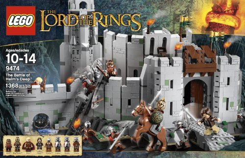 LEGO The Lord of the Rings 9474 The Battle of Helm's Deep (Discontinued by manufacturer) -