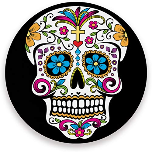 visesunny Colorful Sugar Skull