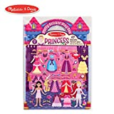 Melissa & Doug Puffy Sticker Play Set, Princess (Reusable Activity Book,67 Stickers, Great for Travel)