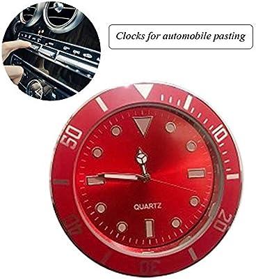 black Locker Car Decoration 5cm Diameter Workbench SUV Car Clocks For Dash Mini Vehicle Dashboard Clock for Cars FOONEE Car Dashboard Clock Cars Office