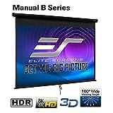 Elite Screens Manual B, 120-INCH 4:3, Manual Pull
