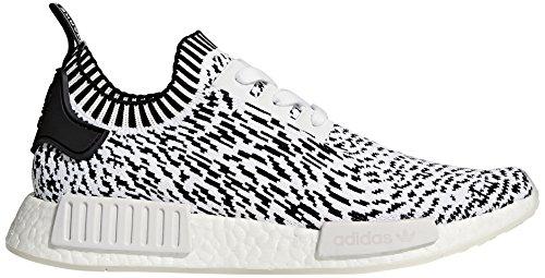 Zapatillas NMD Adidas de r1 Negro Entrenamiento Primeknit Blanco para Mujer Blanco tOBxCBqwd