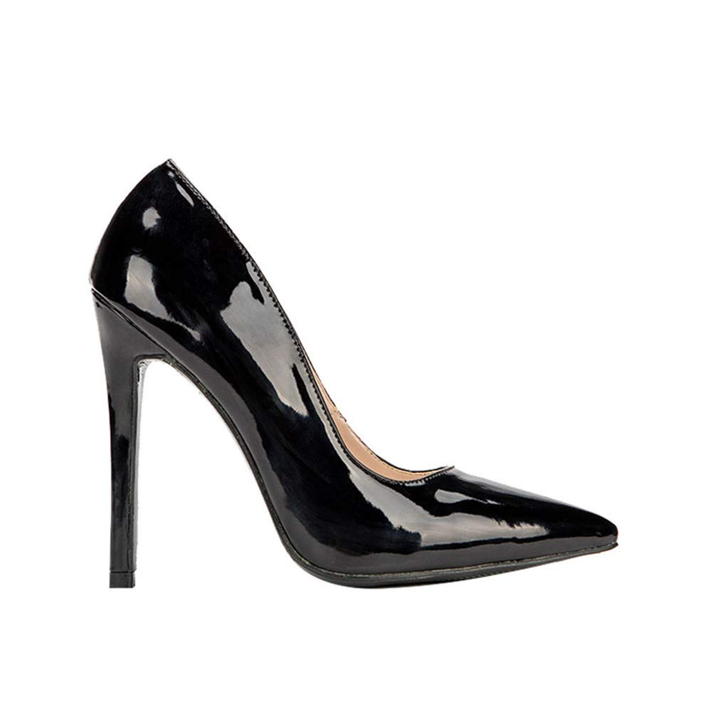 NAFTY Damenschuhe Stiefel Grundlegende Frau Frau Frau Leder Pumps High Heels Flache Bürodame Concise Thin Heels Damenschuhe d9e6a7