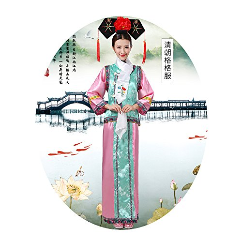 The Qing Dynasty Costume/The Princess Dress/Ancient Chinese