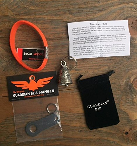 BALD EAGLE GUARDIAN BELL COMPLETE MOTORCYCLE KIT W/ HANGER & (Guardian Eagle)