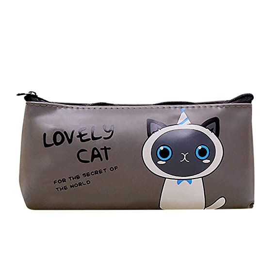 Amazon.com : Pencil Case for Adults Lovely Cat Pencil Case ...