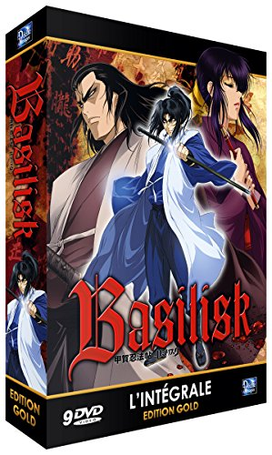 Basilisk : The Kouga Ninja Scroll - Intégrale - Edition Gold (9 DVD + Livret)