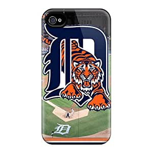 Protection Case For Iphone 4/4s / Case Cover For Iphone(detroit Tigers)