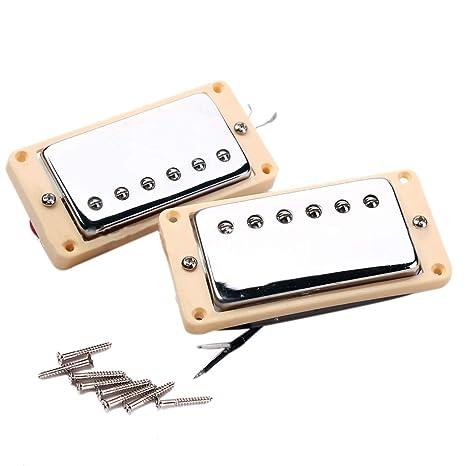 JVSISM Conjunto de Doble Bobina Humbucker Pickup Guitarra ...