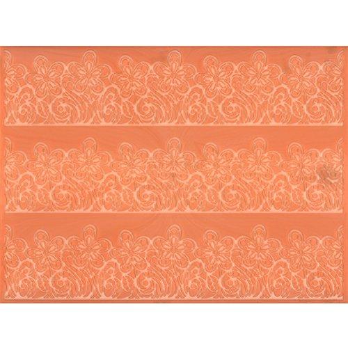 Flower Line Sugar Dress Silicone Lace Mat by Martellato