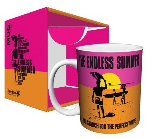 The Endless Summer Classic Surfing Ceramic Coffee Mug, 11 Oz