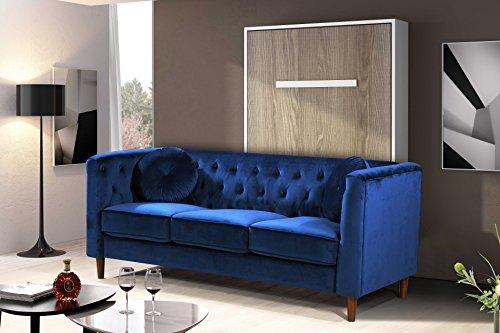 "Kitts Chesterfield Sofa, 78"", Blue"
