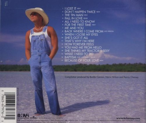 Kenny Chesney Top 50 Songs
