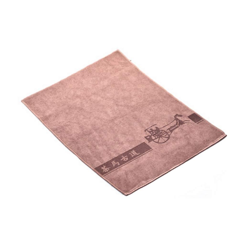 Kylin Express Vintage Tea Towel Tea Accessories,Tea Towels Absorbent Strong Kung Fu Tea Tools Accessories#F