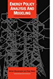 img - for Energy Policy Analysis and Modelling (Cambridge Energy and Environment Series) book / textbook / text book