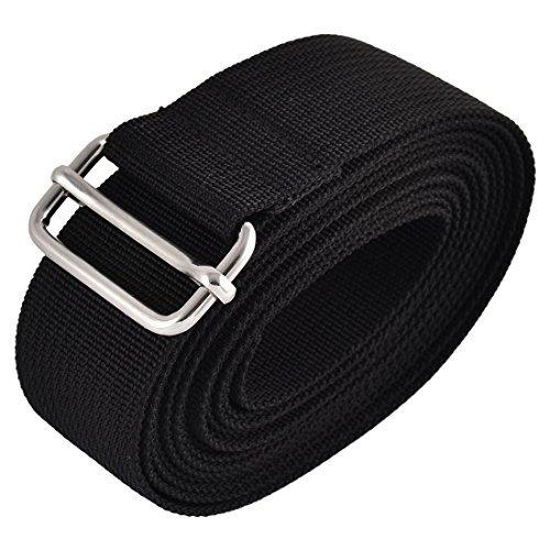 DealMux Metal Loop Nylon Travel Adjustable Suitcase Luggage Strap Belt Buckle 3 Meter Length (Metro Suitcase)