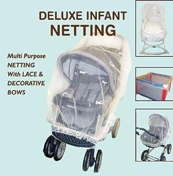 Amazon.com: Comfy bebé Deluxe con lazos para carriola, cuna ...