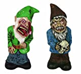 Seasons Zombie Garden Gnome Set
