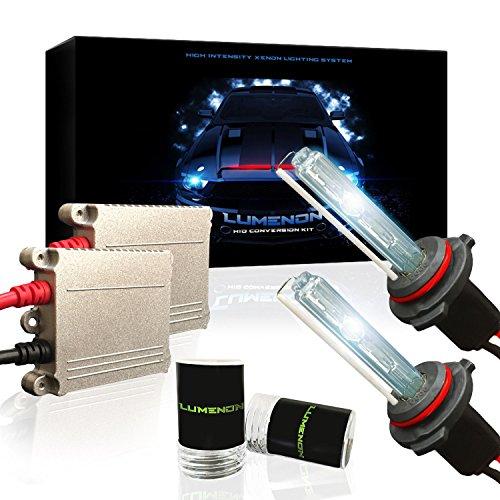 HID Xenon Conversion Kit 35W Premium Slim Ballasts (9006, 6000K Diamond (9006 Hid Headlight Kit)
